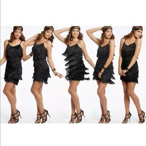 Cheryl Creations Vintage Fringe Flapper Dress